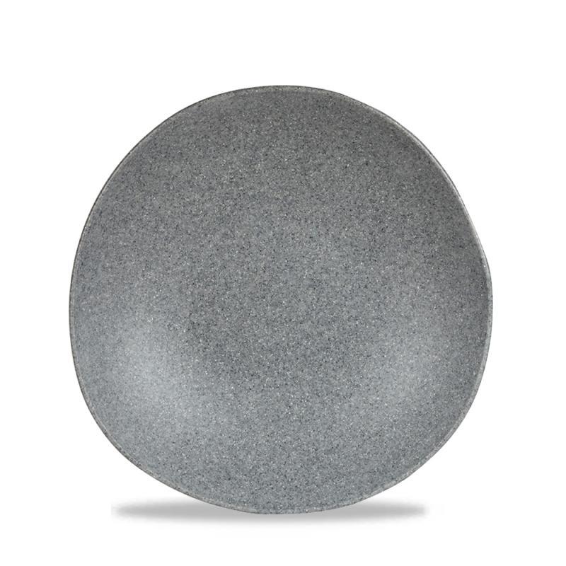 "Plastic Trace Granite Melamine Bowl 12.5"" 88Oz Box 4"