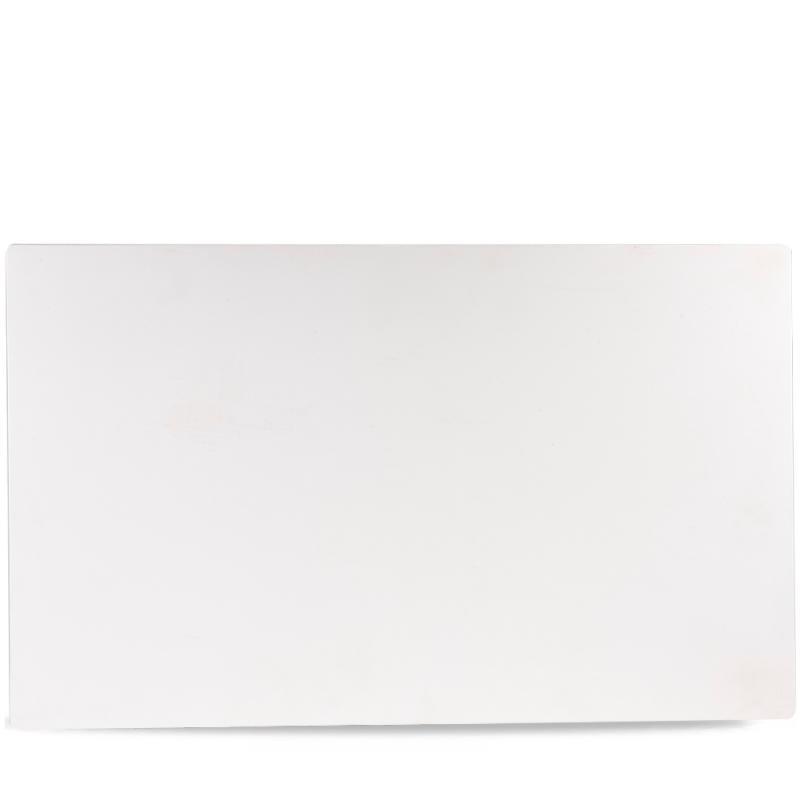 "Plastic  White Melamine Gn 1/1 Tray 20 5/6X12 4/5"" Box 2"