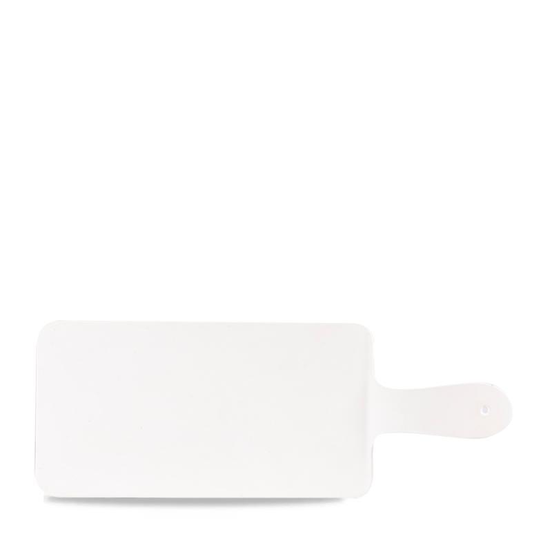 """Plastic  White Handled Melamine Paddle 10 1/2X5 1/2"""" Box 4"""