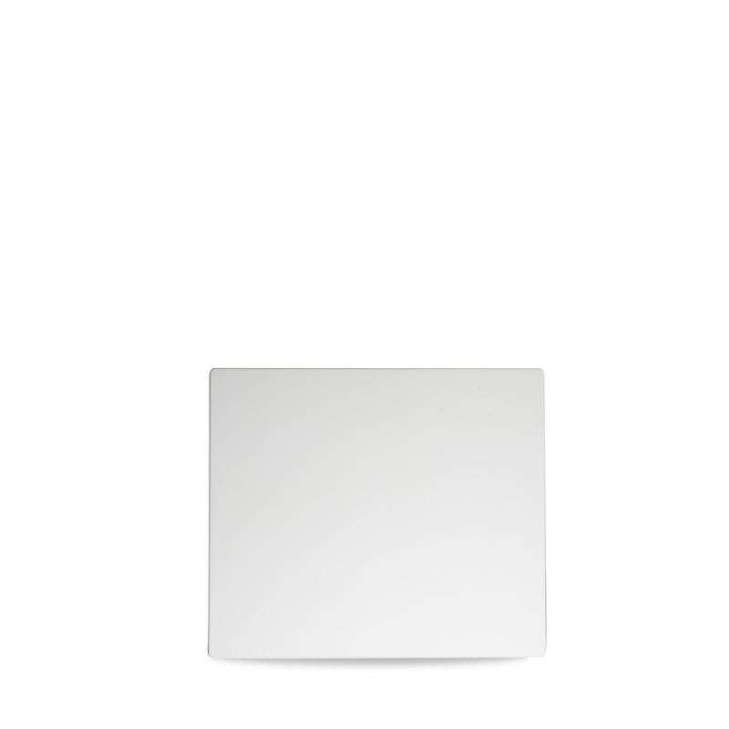 "Plastic  White Rectangular Tile 10 1/5"" X 8 3/4"" Box 6"