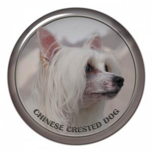 Dekaler med Chinese Crested