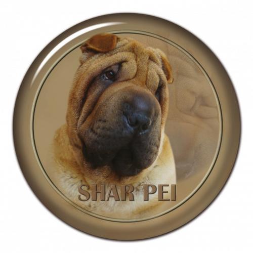 Dekaler med Shar Pei