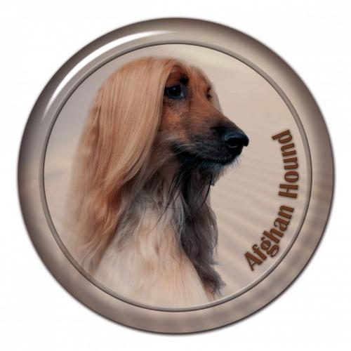 Dekaler med Afghanhund
