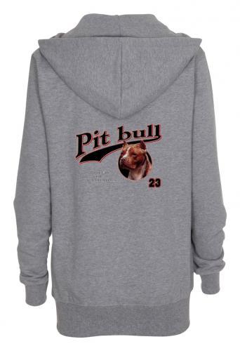 Huvjacka med American Pit Bull Terrier