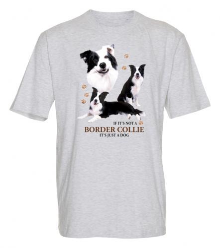 T-shirt med Border Collie