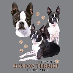 Tygkasse med Bostonterrier