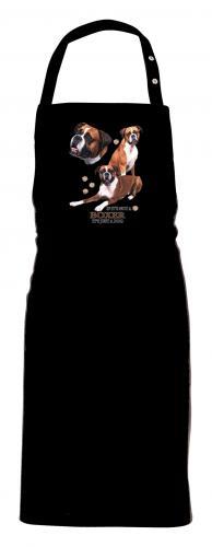 Grillförkläde med Boxer