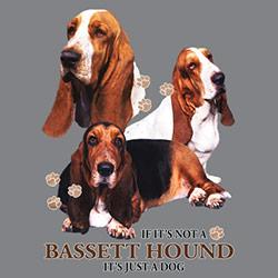 Tygkasse med Basset Hound