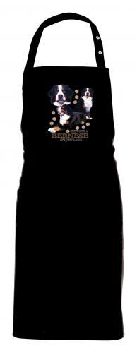Grillförkläde med Berner Sennenhund