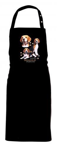 Grillförkläde med Beagle