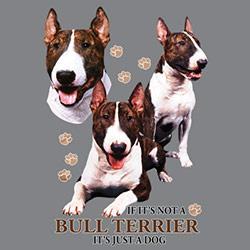 Huvjacka med Bullterrier