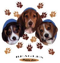 T-shirt i barnstorlek med Beagle