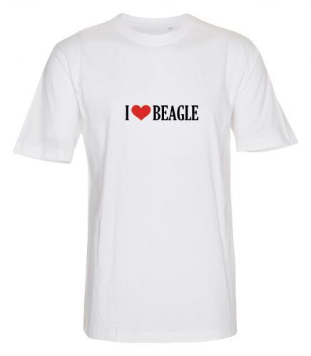 "T-shirt ""I Love"" Beagle"