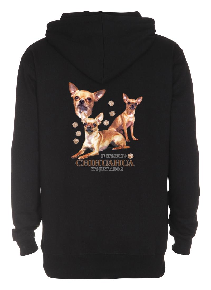 Huvjacka med Chihuahua