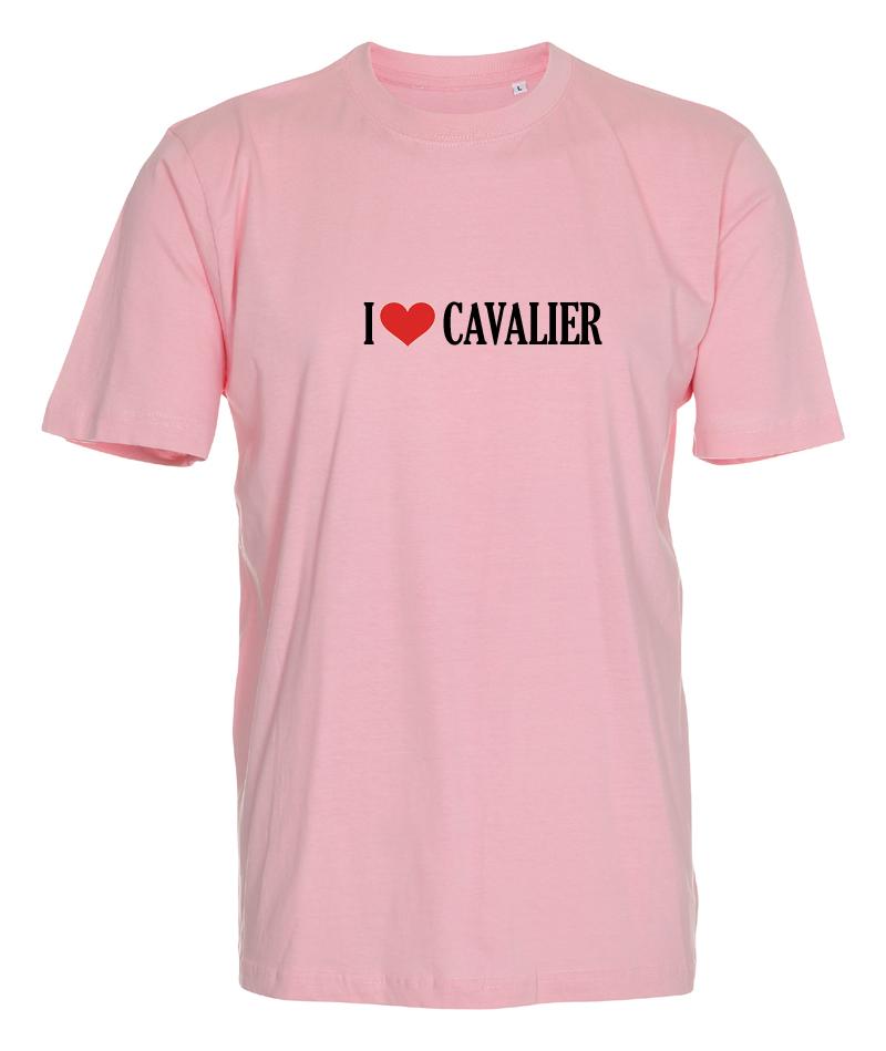 "T-shirt ""I Love"" Cavalier"