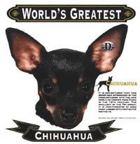 T-shirt med Chihuahua
