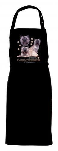 Grillförkläde med Cairnterrier