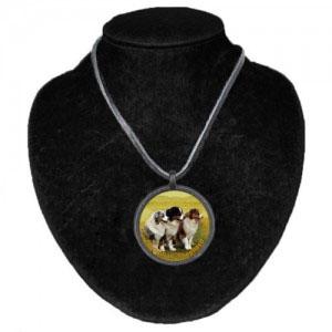 Halsband med Australian Shepherd