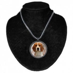 Halsband med Beagle