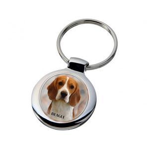 Nyckelring med Beagle