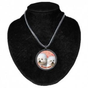 Halsband med Bichon Frisé