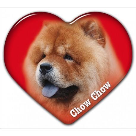 Dekal med Chow Chow