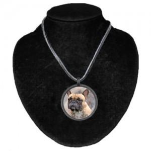 Halsband med Fransk Bulldogg
