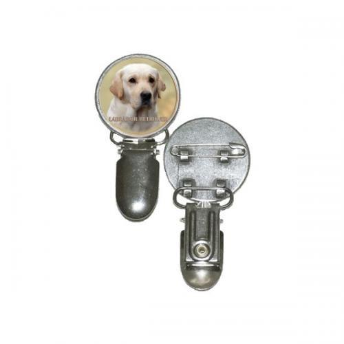 Nummerlappshållare med Labrador