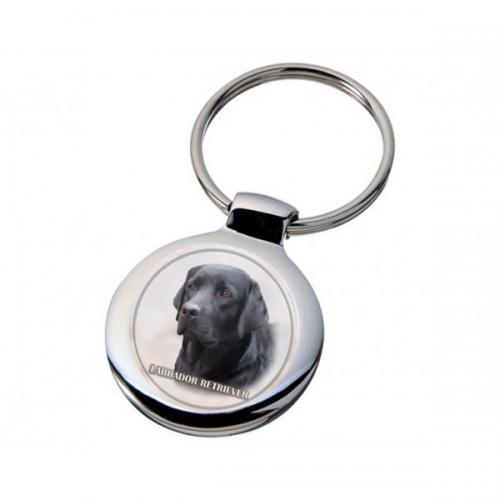 Nyckelring med Labrador
