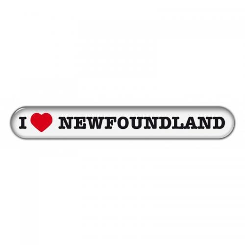 "Dekal "" I Love"" Newfoundland"