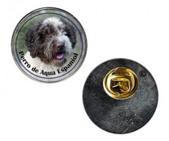Pin med Perro de Agua Espanol