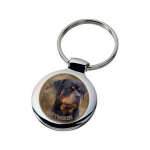 Nyckelring med Rottweiler