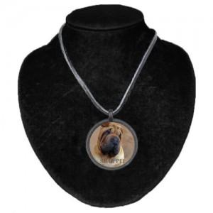Halsband med Shar Pei