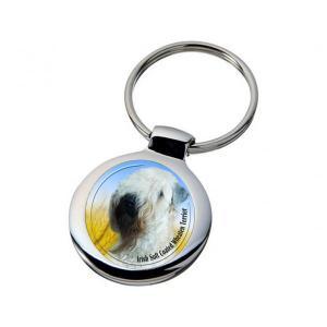 Nyckelring med Irish Softcoated Wheaten Terrier