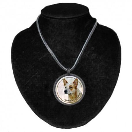 Halsband med Australian Cattle Dog