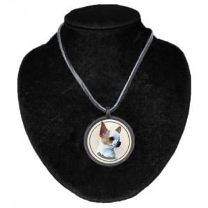 Halsband med Chihuahua