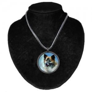 Halsband med Isländsk Fårhund