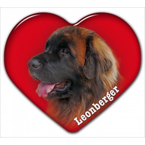 Dekal med Leonberger