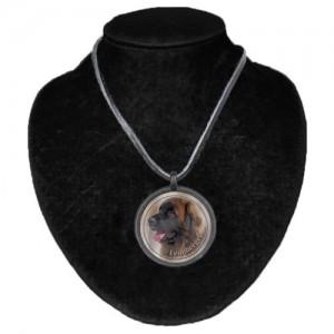 Halsband med Leonberger