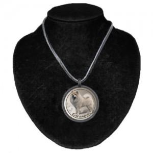 Halsband med Eurasier