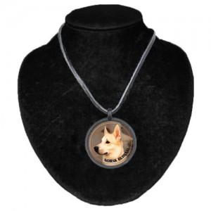 Halsband med Norsk Buhund