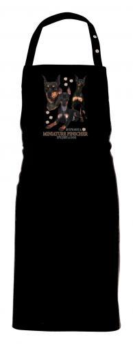 Grillförkläde med Dvärgpinscher