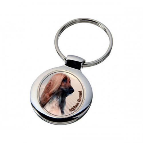 Nyckelring med Afghanhund