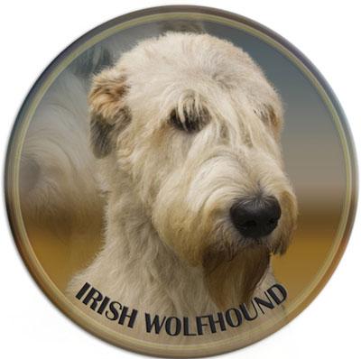 Dekal med Irländsk Varghund