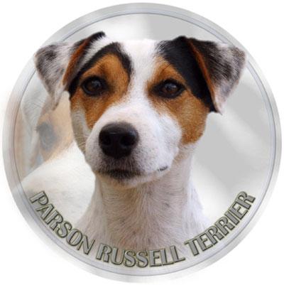 Dekal med Parson Russel Terrier