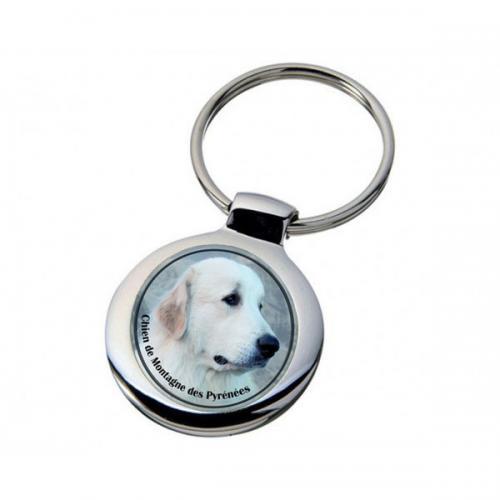 Nyckelring med Pyrenéerhund