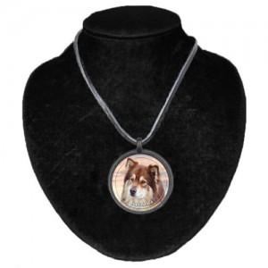 Halsband med Finsk Lapphund