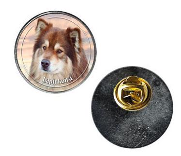 Pin med Finsk Lapphund