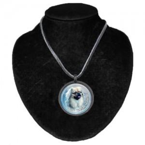 Halsband med Tibetansk Spaniel