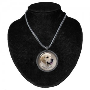 Halsband med Golden Retriever